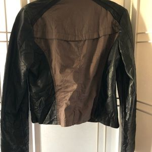 Mossimo Supply Co. Jackets & Coats - 🌷Quilted brown a black moto style jacket. Size L